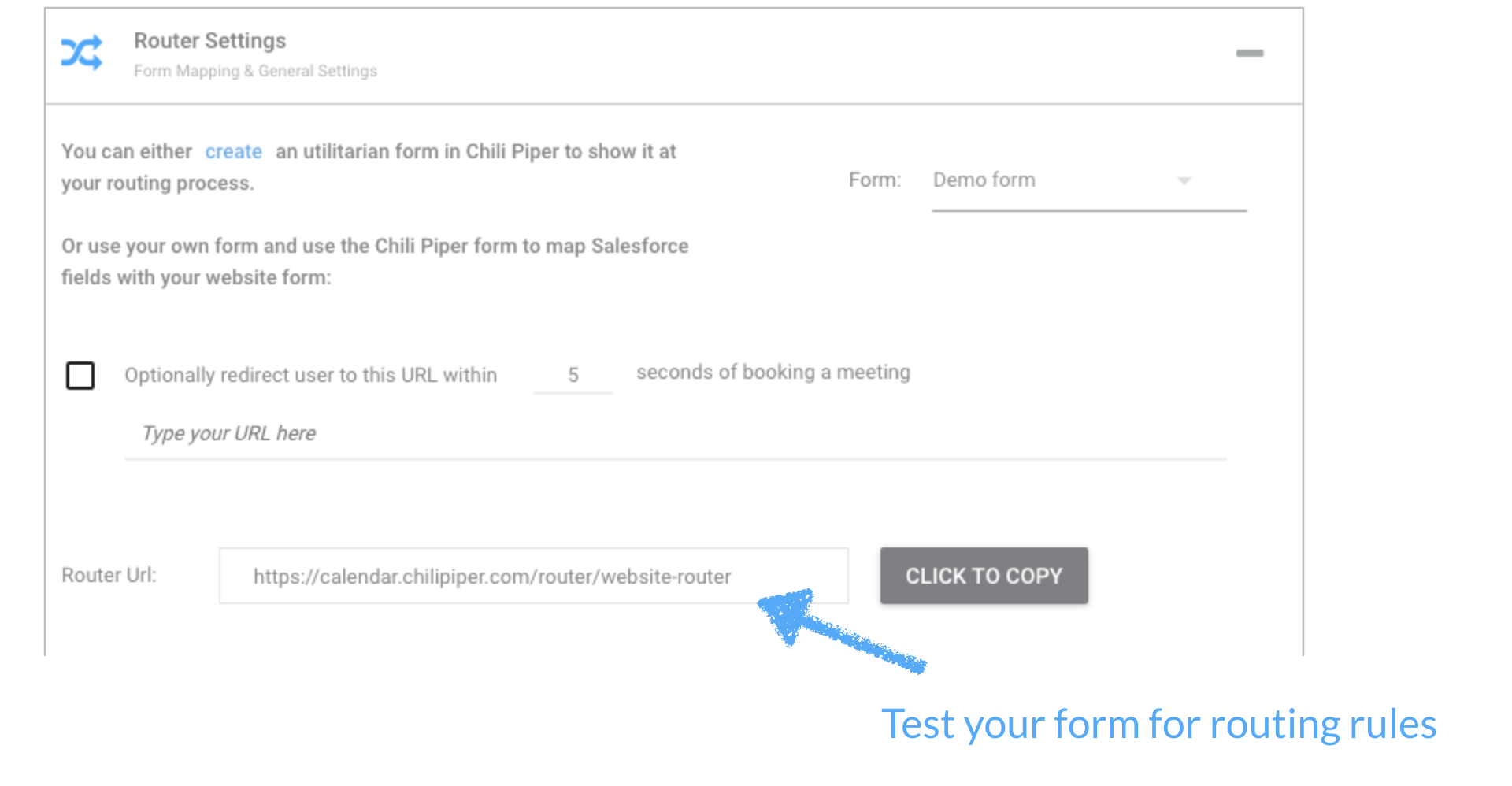 Configuring your Form Scheduler - Chili Piper Knowledge Base