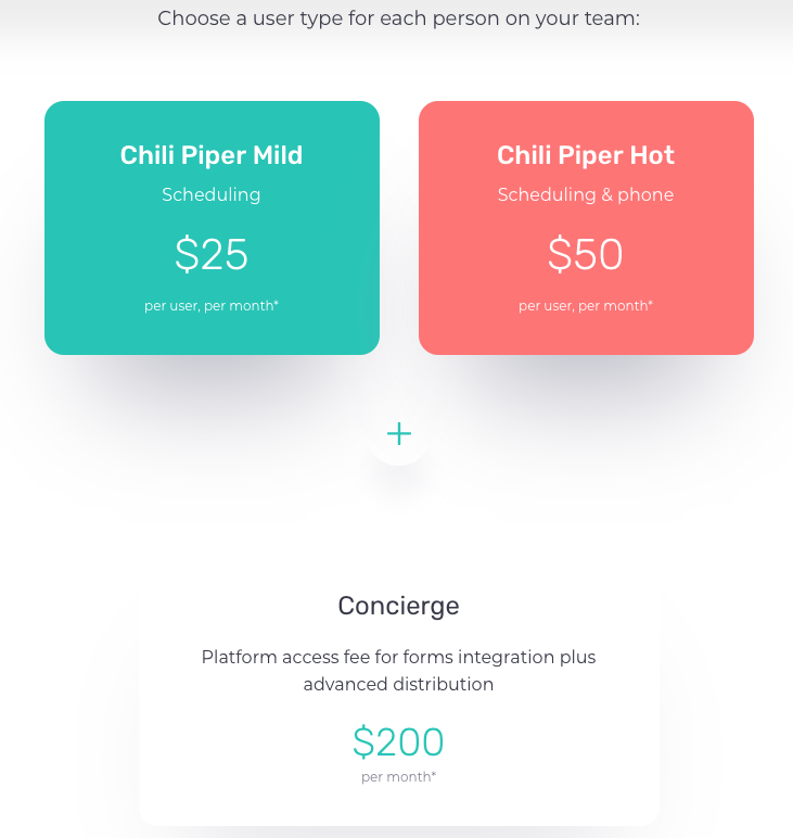 Chili Piper Pricing