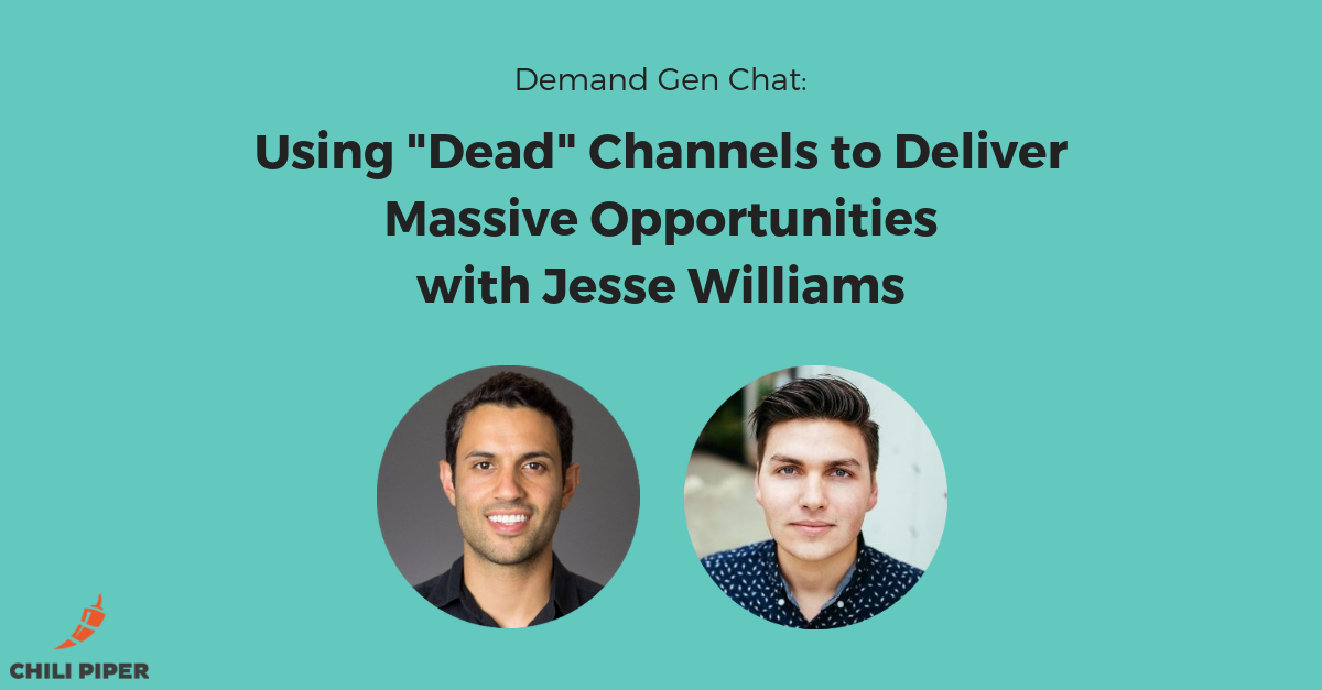 "Using ""Dead"" Channels to Deliver Massive Opportunities with Jesse Williams"