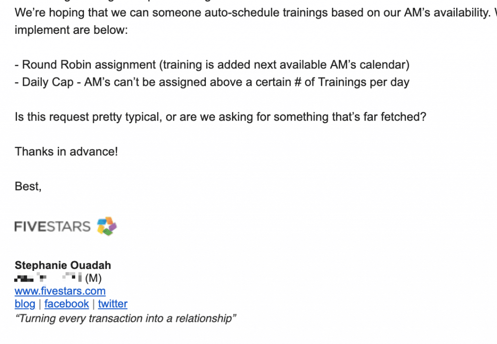 meeting lifecycle automation email